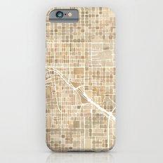 Tucson Arizona watercolor map Slim Case iPhone 6s