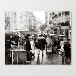 La Vie Parissiene Canvas Print