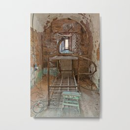 Serpent Prison Cell Metal Print
