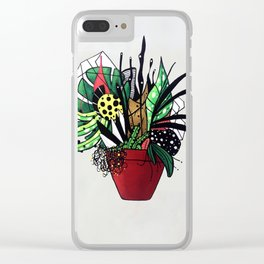 Plant series N3 Clear iPhone Case