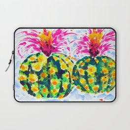 Crazy Hair Day Cactus Laptop Sleeve