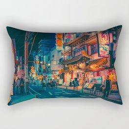 Electric Dreams III- Japan Photo Print Rectangular Pillow