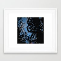 darth Framed Art Prints featuring Darth by Rimadi