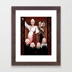 AHS Hotel Framed Art Print
