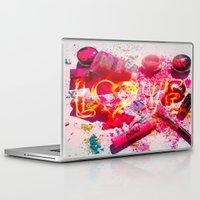 makeup Laptop & iPad Skins featuring MakeUp Crush by LuxuryLivingNYC