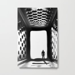 """Into the """"Grate"""" unknown Metal Print"""