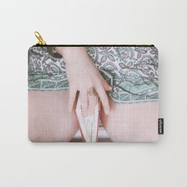"""""""A secret freedom opens through a crevice you can barely see."""" Carry-All Pouch"""