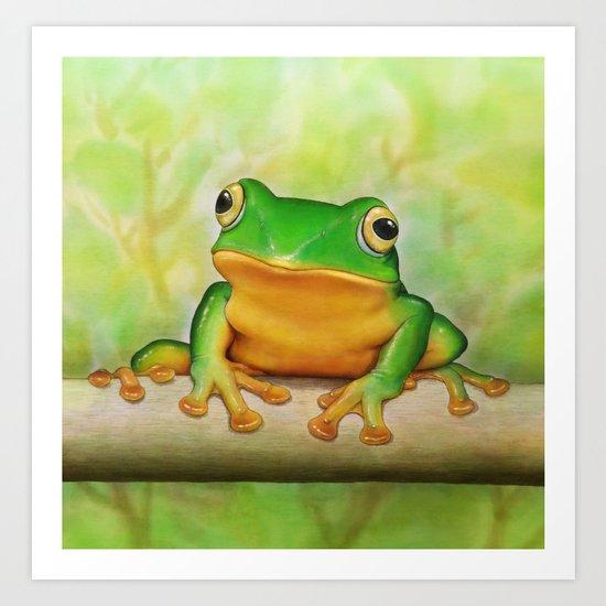 Taipei TreeFrog Art Print