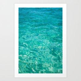 Cabo Water Art Print