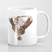 apple Mugs featuring Apple by fabiotir