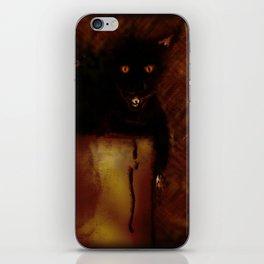 Evil Cat iPhone Skin