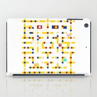 pac man iPad Cases featuring Pac-Man Boogie Woogie by Jake Friedman