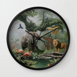 Project Paradise Wall Clock
