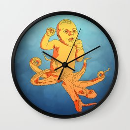 Travis (Octo-baby) Wall Clock
