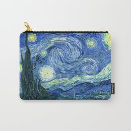 Vincent van Gogh Starry Night 1889 Carry-All Pouch