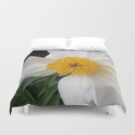 White Beauty by Teresa Thompson Duvet Cover