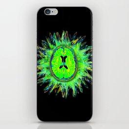 Brain storm iPhone Skin