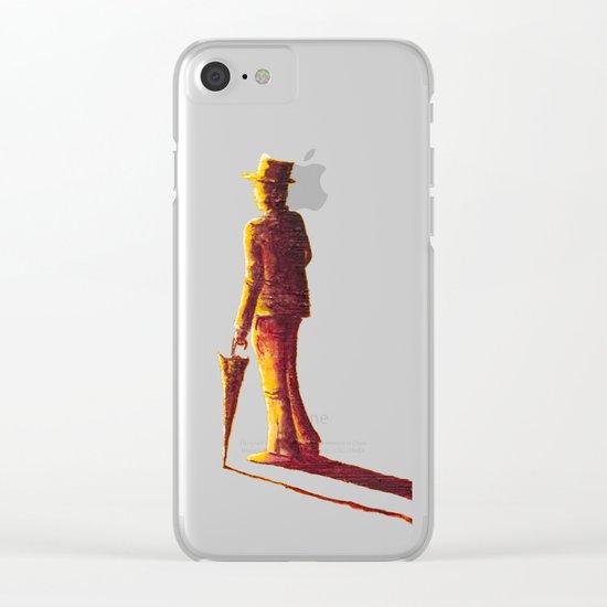 Sir Tornado - Sir Security Clear iPhone Case