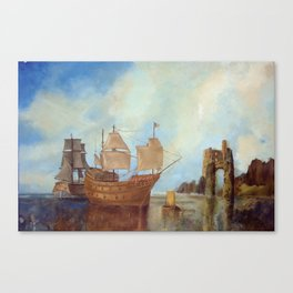 Mary Rose Canvas Print