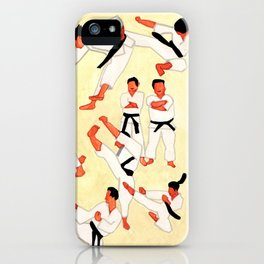 Taekwondo Power iPhone Case