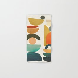 Modern Abstract Art 72 Hand & Bath Towel