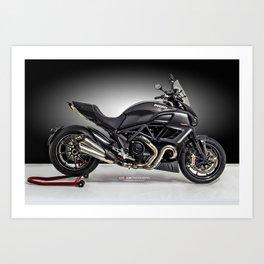 Ducati Diavel 2013 Art Print