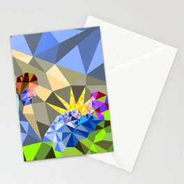 The Manger II Stationery Cards