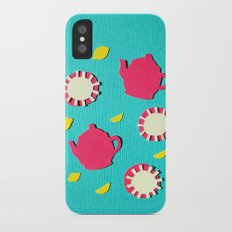 Turquois Tea Slim Case iPhone X