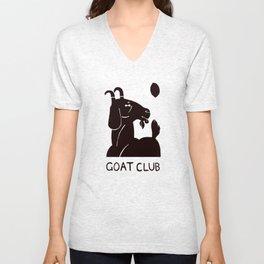 goat club Unisex V-Neck