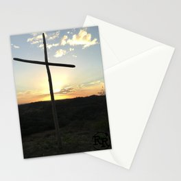 Ruby Ranch Cross Stationery Cards