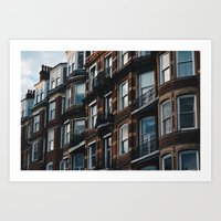 London Building Art Print