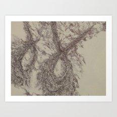 Yael-base linkage2 Art Print
