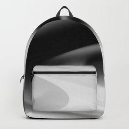 DREAM PATH (Black, Grays & White) Backpack