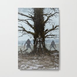 Brother Zygfryd and the Last Crusade Metal Print