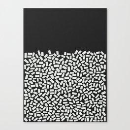 Half Empty or Half Full? Canvas Print