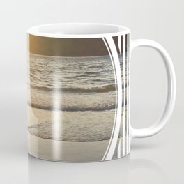 Port Erin - circle/line Coffee Mug