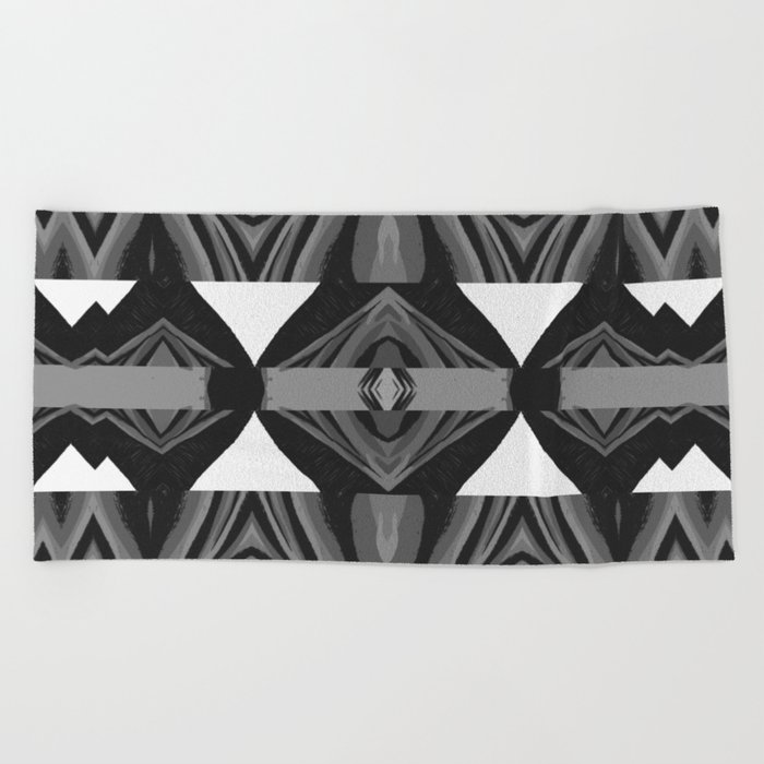 Euclidean geometry Beach Towel by andychristofi
