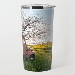 Farming Past Travel Mug
