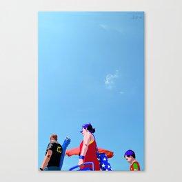 Super...on the beach Canvas Print