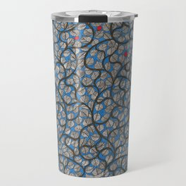 Tree With Blue Sky Bg Travel Mug