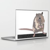 rat Laptop & iPad Skins featuring Rat by AJVicoso
