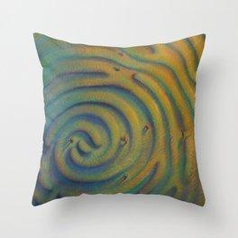 """Imprinted Labyrinth"" Throw Pillow"