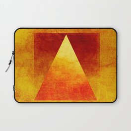 Triangle Composition VI Laptop Sleeve
