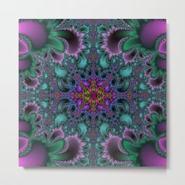 Fractal Abstract 36 Metal Print