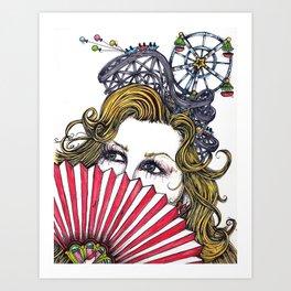 Ticket To Ride Art Print