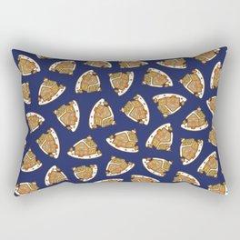 Gingerbread House Pattern - Christmas Eve Rectangular Pillow