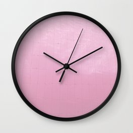 Pink Water II Wall Clock