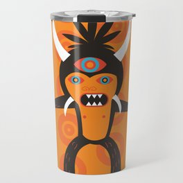 3 Eye Monster Travel Mug
