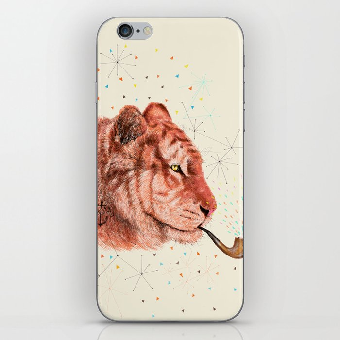 Red Tiger iPhone Skin