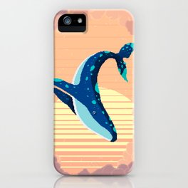 Sky Whale iPhone Case